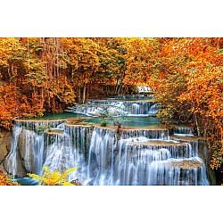 Wallpaper Mural Autumn Waterfall Thailand (695)