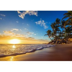 Wallpaper Mural Tropical in Beach Sunrise (663)