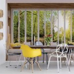 3D Window View Forest Photo Wallpaper Mural (10660VE)