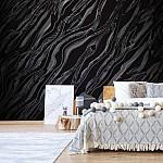 3D Abstract Black Texture Photo Wallpaper Mural (1429VE)