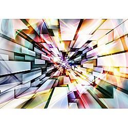 3D Abstract Design Multicoloured Photo Wallpaper Mural (3486VE)