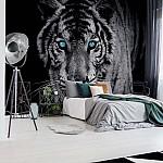Tiger Animal Photo Wallpaper Mural (153VE)