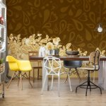 Luxury-Ornamental-Brown-And-Gold-Design-Photo-Wallpaper-Mural-(10375VE)