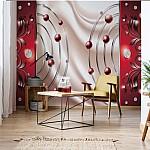 Abstract-Modern-Design-Red-Photo-Wallpaper-Mural-(2433VE)