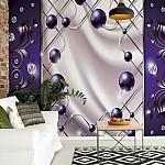 Abstract-Modern-Design-Purple-Photo-Wallpaper-Mural-(2445VE)
