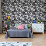 Modern-Lace-Pattern-Black-And-White-Photo-Wallpaper-Mural-(2528VE)