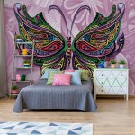 Pyschedelic-Butterfly-Photo-Wallpaper-Mural-(3263VE)