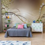 Luxury-Ornamental-Swirls-Design-Diamonds-Gold-Photo-Wallpaper-Mural-(3281VE)