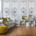 Luxury-Wood-Panneling-White-Photo-Wallpaper-Mural-(3530VE)