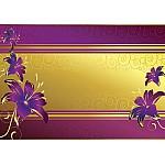 Luxury-Floral-Design-Purple-Photo-Wallpaper-Mural-(2085VE)
