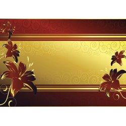 Luxury-Floral-Design-Red-Photo-Wallpaper-Mural-(2083VE)