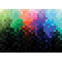 Pixel-Pattern-Colourful-Photo-Wallpaper-Mural-(1483VE)