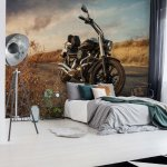 Motorcycle Photo Wallpaper Mural (11727VE)