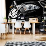 Luxury Car Photo Wallpaper Mural (416VE)