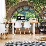 Lake Forest Archway View Photo Wallpaper Mural (11555VE)
