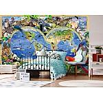 Animals World Wallpaper Mural (12842VE)