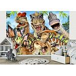 Dinos Group Selfie Wallpaper Mural (12846VE)