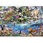 Animals Kingdom Wallpaper Mural (12843VE)