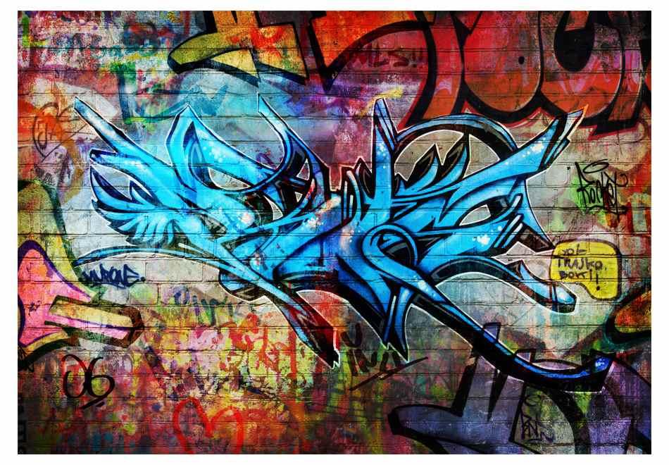 Wallpaper Mural Art Crime