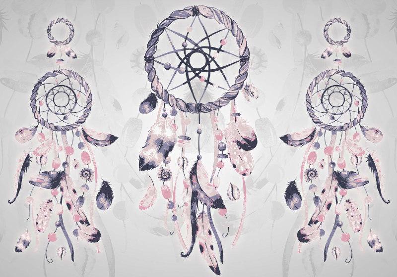 Boho-Chic-Dreamcatchers-Photo-Wallpaper-Mural-(11283VE)